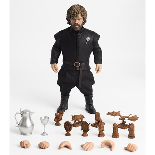 Game of Thrones Tyrion Lannister Season 7 1:6 Deluxe Action Figure - Official Threezero :: Mental XS Online