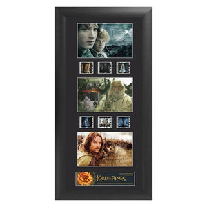 "Lord of the Rings: Return of the King Series 1 Trio Film Cell Display [11"" x 20""] - Official Filmcells Ltd Limited Edition 2500 :: Mental XS Online"