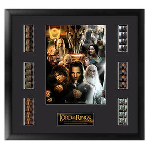 "Lord of the Rings Series 5 Mixed Montage Film Cell Display [19"" x 20""] - Official Filmcells Ltd Limited Edition 2500 :: Mental XS Online"