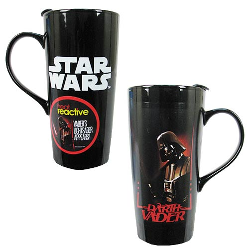 Star Wars Darth Vader Heat Change Ceramic Travel Mug 20 oz - Vandor from Mental XS Online