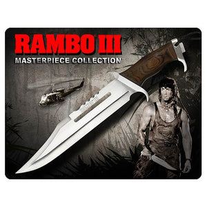 Gil Hibben Rambo III Standard Edition Knife - Hollywood Collectibles Group - Official Hollywood Collectibles Group :: Mental XS Online