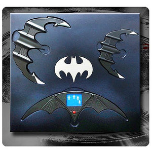 Tim Burton's Batman Batarang 1:1 Scale Set - Official Hollywood Collectibles Group Limited Edition 500 :: Mental XS Online