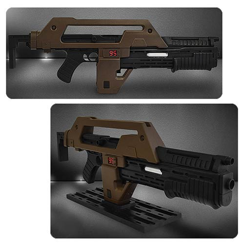 Aliens - M41A1 Pulse Rifle Brown Bess Prop Replica - Official Hollywood Collectibles Group Limited Edition 750 :: Mental XS Online