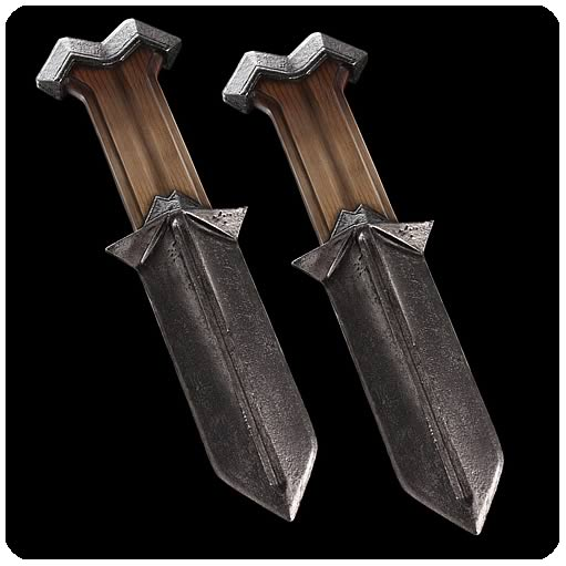 The Hobbit: An Unexpected Journey Nori Knives Prop Replicas - Official Weta Collectibles Limited Edition 500 :: Mental XS Online