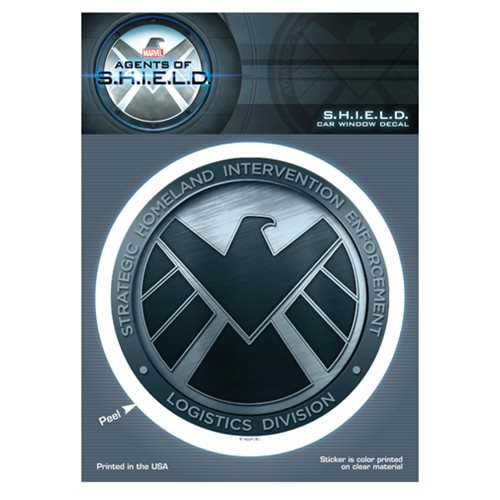 Marvel Comics Agents of SHIELD Logo Decal - Official Body Vibe :: Mental XS Online