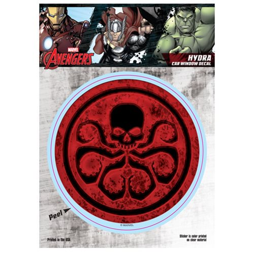 Marvel Comics Hydra Logo Decal - Official Elephant Gun :: Mental XS Online