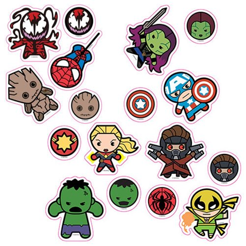 Marvel Kawaii Character Car Graphics Set 2 - Official Elephant Gun :: Mental XS Online