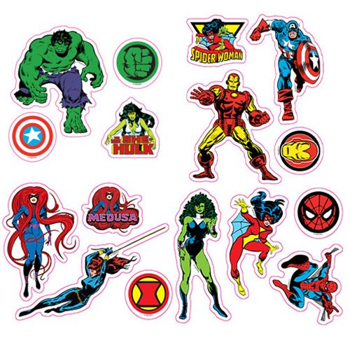Marvel Comics Character Car Graphics Set - Official Elephant Gun :: Mental XS Online