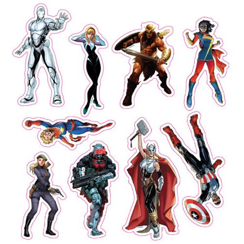 Marvel Now Character Car Graphics Set - Official Elephant Gun :: Mental XS Online