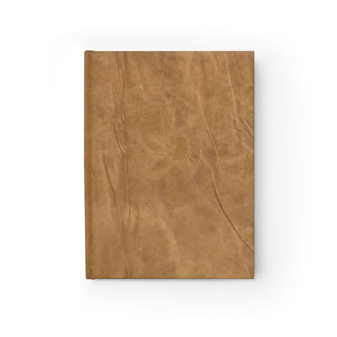 "Antique Parchment Hardcover Blank Journal 8"" x 5"" (Front) from Mental XS Online"