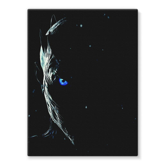 Game of Thrones The Night King Canvas Print