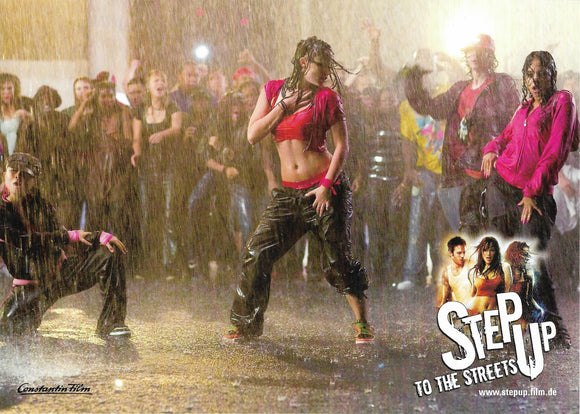 Step Up 2: The Streets Set of 8 A4 Promo Poster Prints