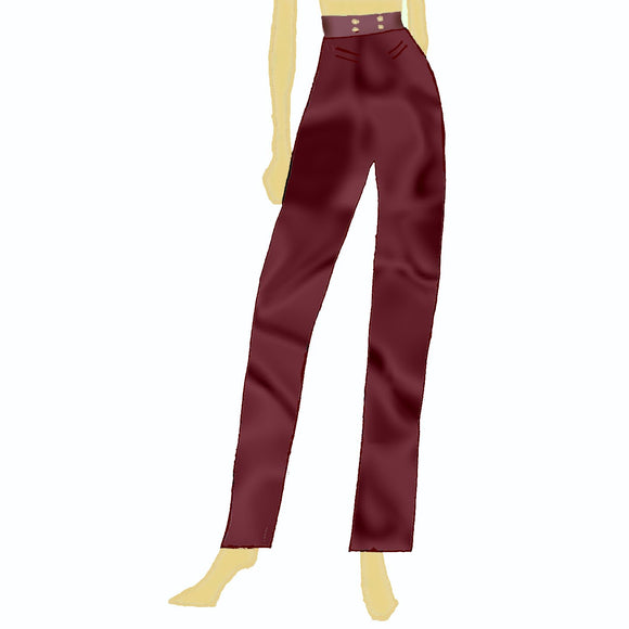 Dracula Lady Jayne taffeta Pants US 4-14 (US 4-14) - The Costume Portal Limited Edition :: Mental XS Online