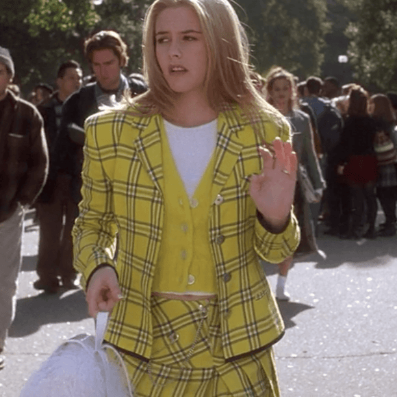 Clueless Cher Horowitz Tartan Blazer Jacket and Pleat Skirt Set (US 4-14) - The Costume Portal Limited Edition :: Mental XS Online