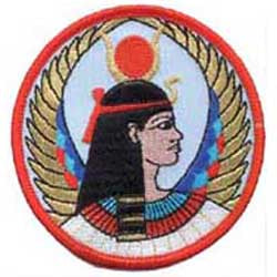 Isis Egyptian Goddess Sew-on Patch 3