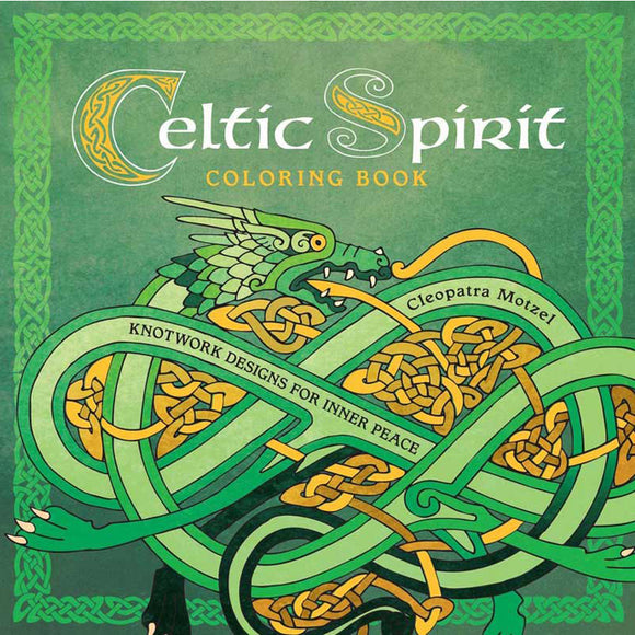 Celtic Spirit Coloring Book