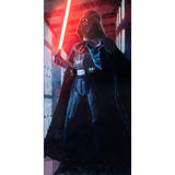 "Star Wars Episode IV: A New Hope ""Confronting Vader"" Unframed Life-size Canvas Giclee Fine Art Print by Cliff Cramp [7 ft x 3½ ft] - Acme Archives Limited Edition 77 Pieces :: Mental XS Online"