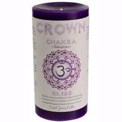 Crystal Journey Candles Chakra Pillar Candle 6