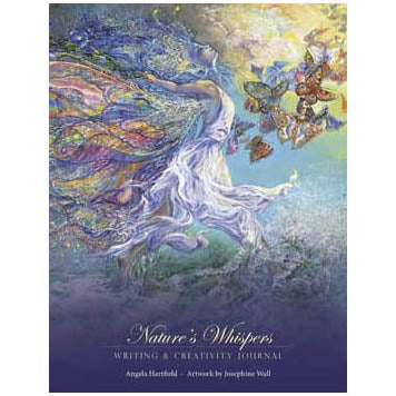 Nature's Whispers Illustrated Paperback Journal by Hartfield & Wall (9¼