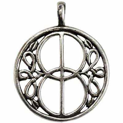 Chalice Well Amulet Pewter Pendant (has cord) :: Mental XS Online