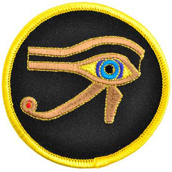 Eye of Horus Egyptian God Sew-on Patch 3