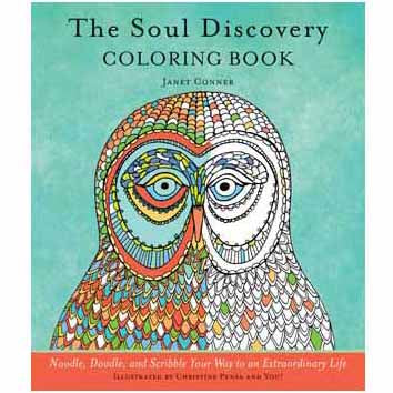 Soul Discovery Coloring Book by Janet Conner