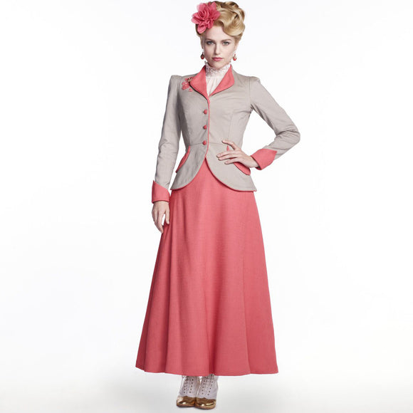 Dracula Lucy Westenra Linen Skirt US 4-14 from Mental XS Online