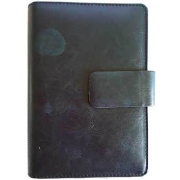 Black Leather Date Book (7¼