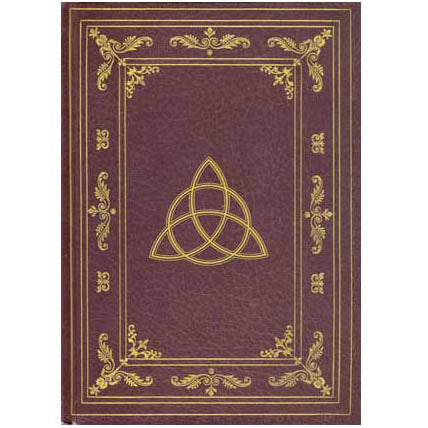 Celtic Triquetra Hardcover Journal (8