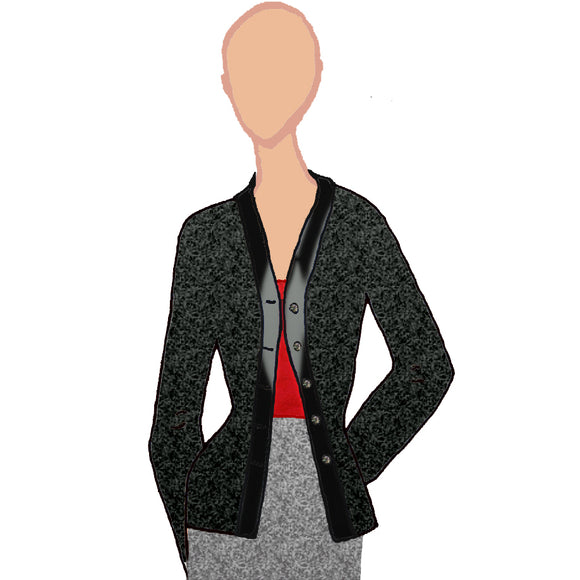 Wool Blazer from K by Katerina at Mental XS Online