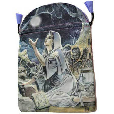 Drawing Down the Moon Satin Keepsakes Bag by Lo Scarabeo 6