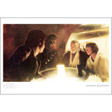 "Star Wars Episode IV: A New Hope ""Transport Negotiations"" Unframed Paper Giclee Fine Art Print by Brian Rood Ltd Ed [13"" x 19""] - Acme Archives Limited 150 Edition  Pieces :: Mental XS Online"