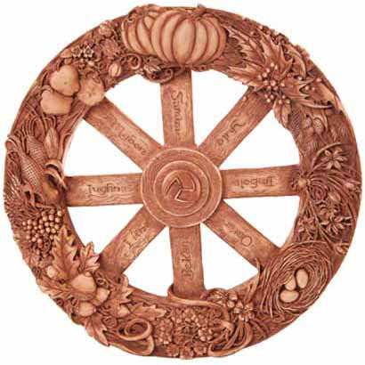 Wheel of the Year Resin Plaque 11