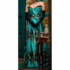 Dracula Lady Jayne Peacock Gown US 4-14 from Mental XS Online