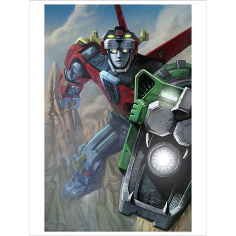 Voltron Unframed Metallic Lithograph Art Print by Lee Kohse [24