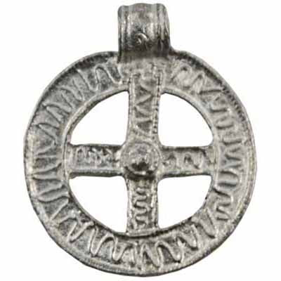 Norse Protection Talisman Pewter Pendant (has cord) :: Mental XS Online