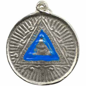Power Triangle Talisman Pewter Pendant (has cord) :: Mental XS Online