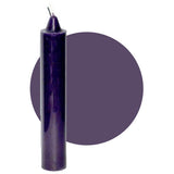 "Dark Purple Pillar Candle 9"" :: Mental XS Online"