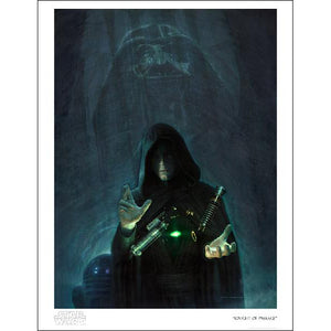 "Star Wars Episode VI: Return of the Jedi ""Knight of Passage"" Unframed Paper Giclee Fine Art Print by Jerry Vanderstelt [22"" x 17""] - Acme Archives Limited Edition 150 Pieces :: Mental XS Online"