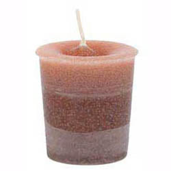Sand Power Reiki-Charged Herbal Votive Candle 2½