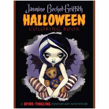 Halloween Coloring Book by Jasmine Becket-Griffith