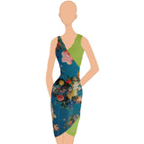 Katerina Wrap Dress - Print (US 4-14) from K by Katerina :: Mental XS Online