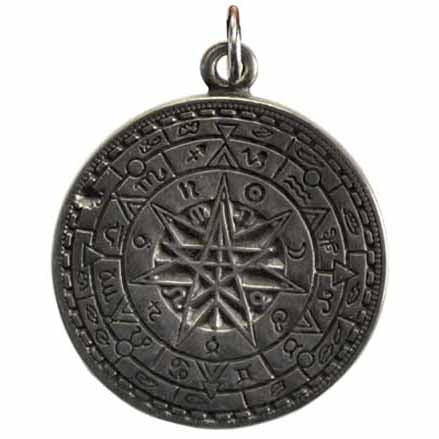 Protection Talisman Pewter Pendant (has cord) :: Mental XS Online
