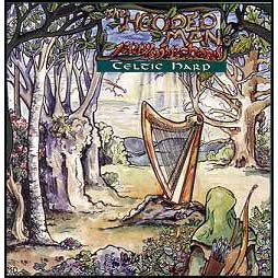 CD: Hooded Man:Celtic Harp Music by Jerry Marchand