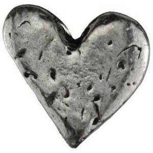 Heart Pewter Pocket Stone :: Mental XS Online