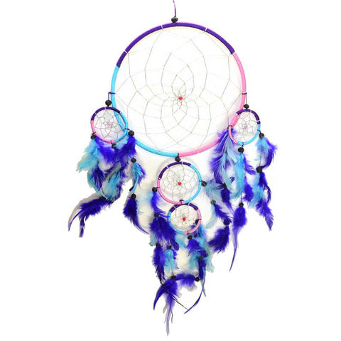 "5-Rings Dreamcatcher 8"" x 20"""