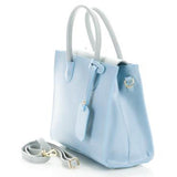 Lucy Genuine Italian Women's Leather Handbag With Smartphone Pocket :: Mental XS Online