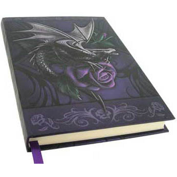 Dragon Beauty Embossed Hardcover Unlined Journal by Anne Stokes (7