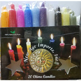 New Age Imports® Mixed Chime Candles (20 Pack) :: Mental XS Online