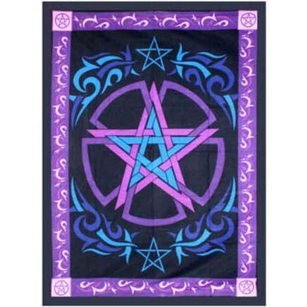 Celtic Pentacle Tapestry 58